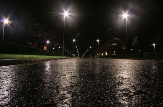 Rainy Weather Causes Car Crashes