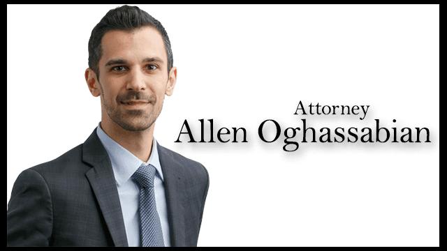 San Diego Personal Injury Lawyer Allen Oghassabian
