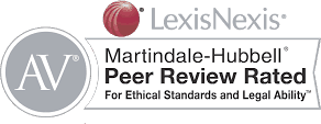 Martindale-Hubbell Peer Review Rated - The Barnes Firm