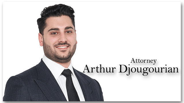 Arthur Djougourian is one of our best car accident lawyers in LA