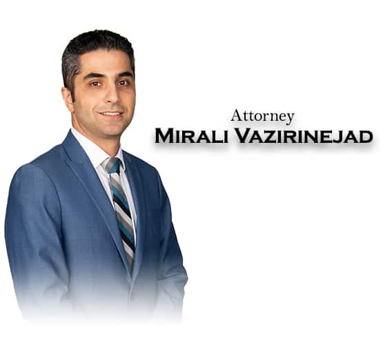 attorney mirali vazirinejad