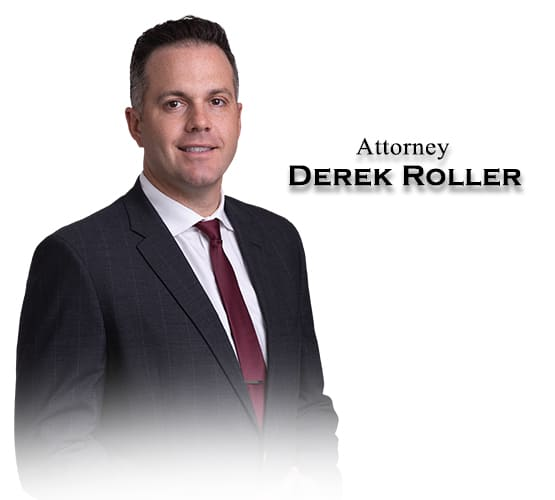 Attorney Derek Roller from the Barnes Firm Injury Lawyers