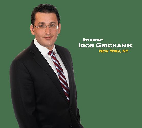 Personal Injury Attorney Igor Grichanik of The Barnes Firm