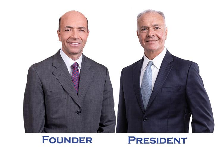 Founder Steve Barnes and President Rich Barnes