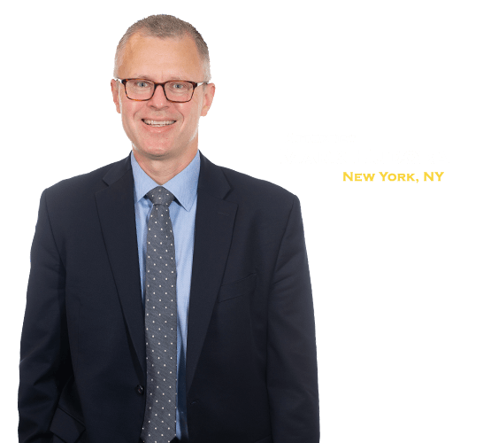 Mark Hudoba of The Barnes Firm injury attorneys in NYC, New York