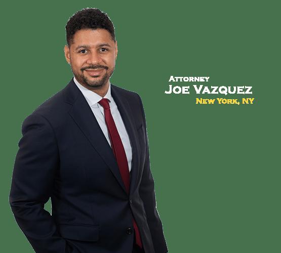 personal injury attorney joe vazquez of The Barnes Firm