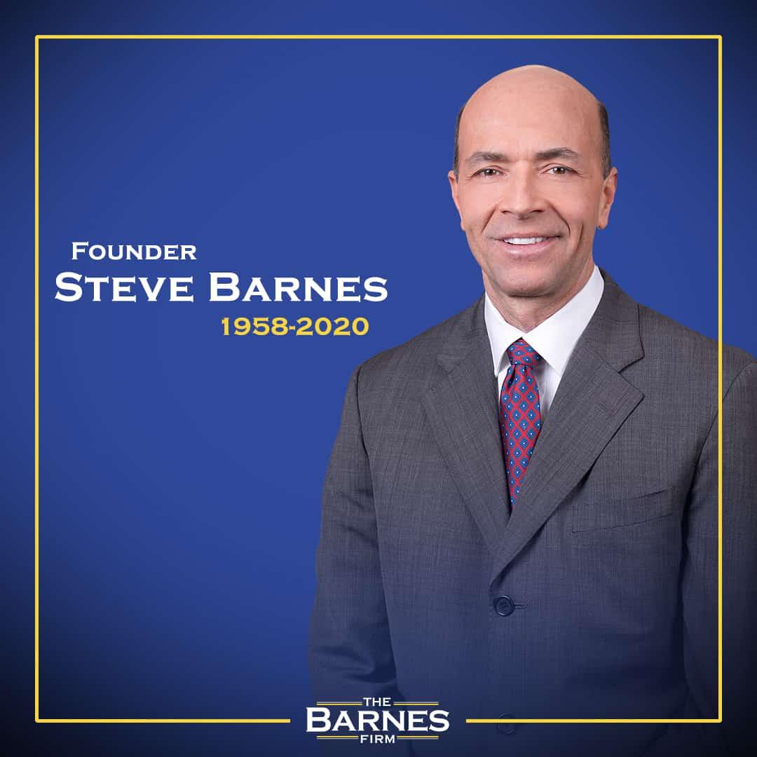 founder steve barnes, 1958-2020